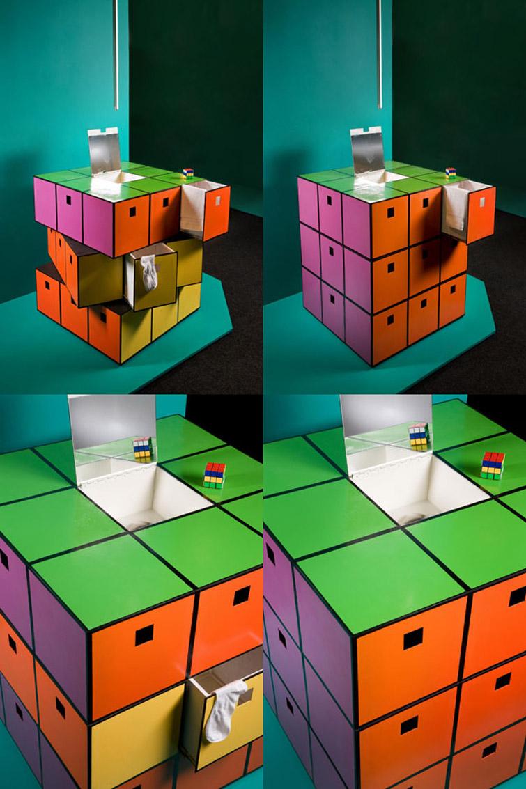 Bureau Rubik S Cube Macosh Design
